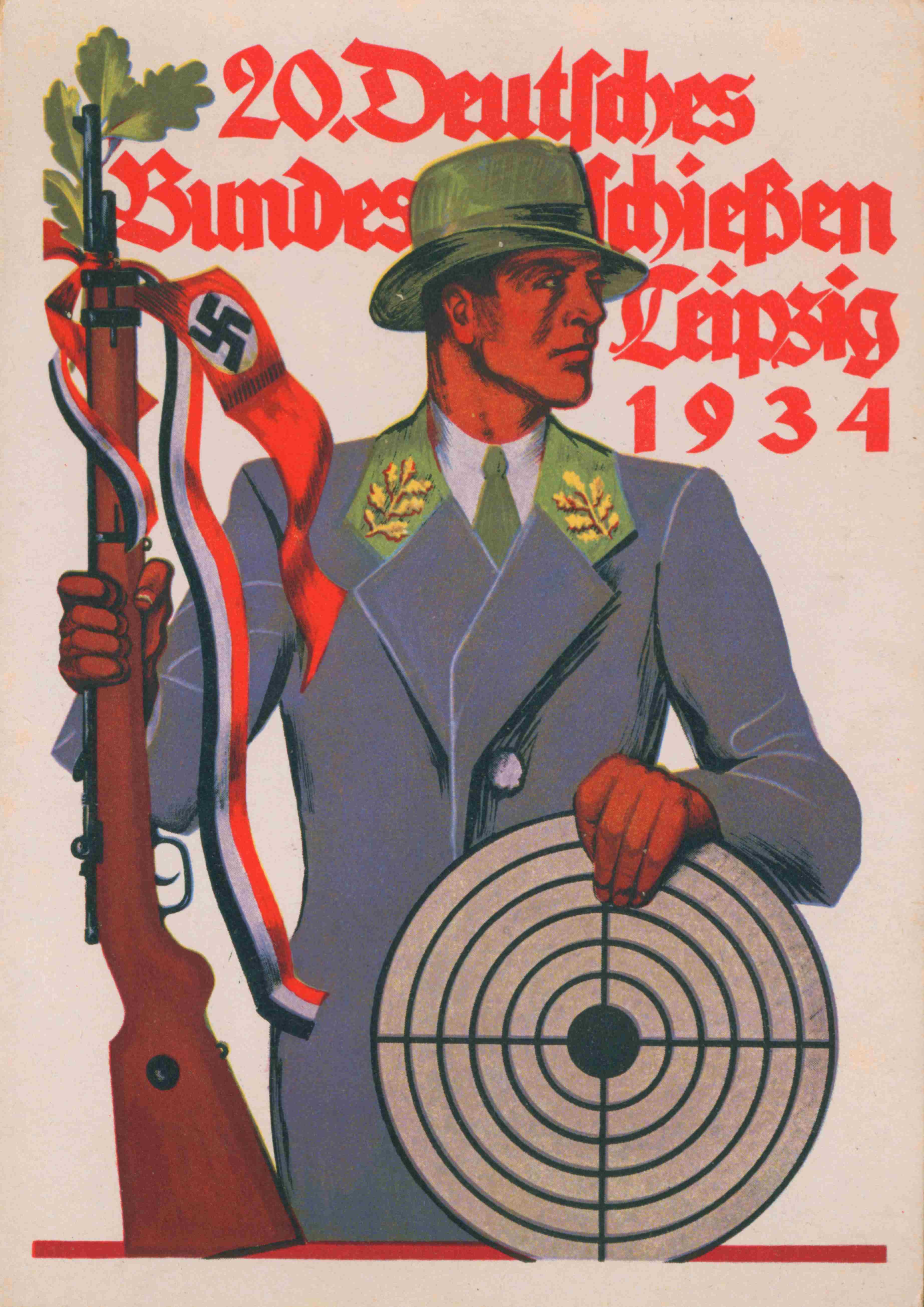 Bundesschießen Leipzig, 1934