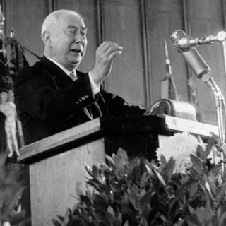 Bundespräsident Theodor Heuss