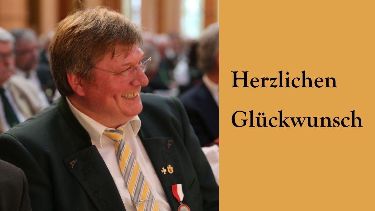 Foto: DSB / Herzlichen Glückwunsch, Gerd Hamm!