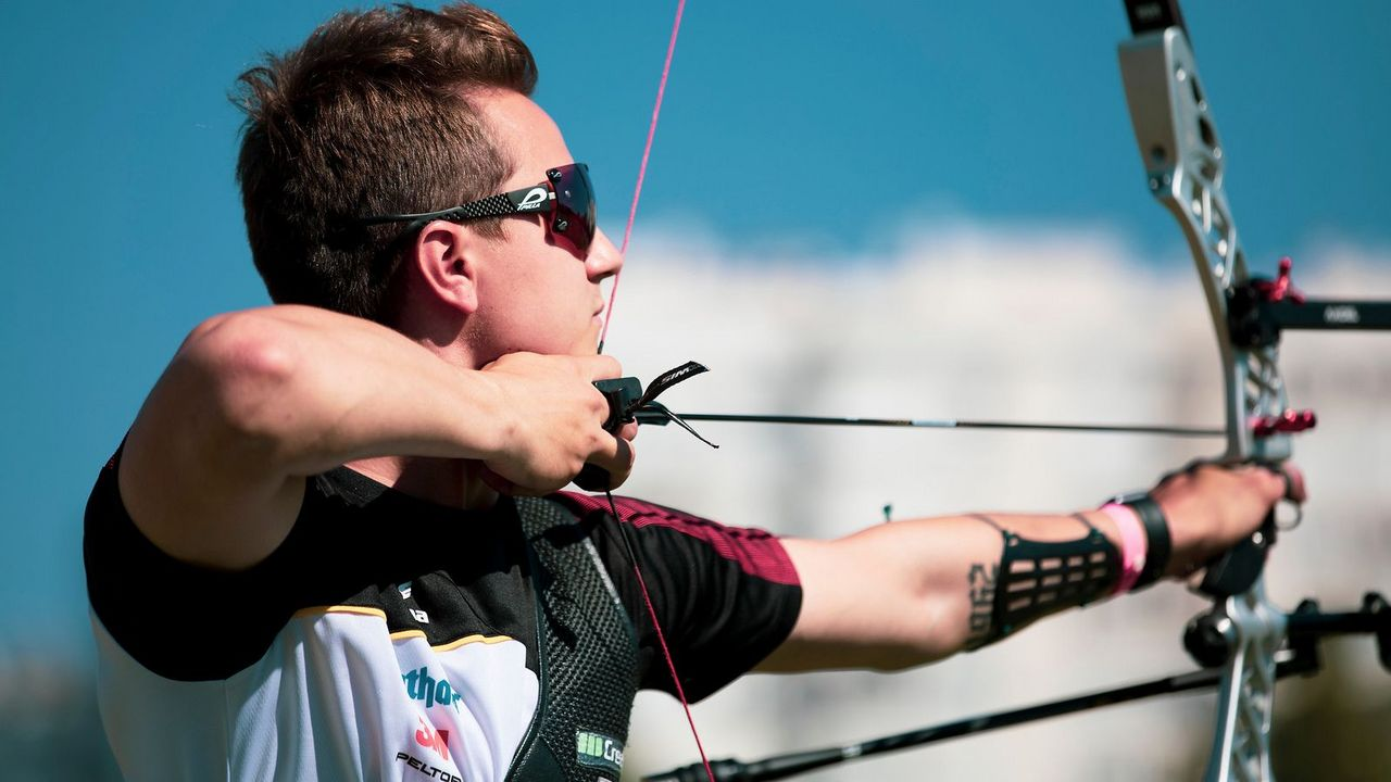 Foto: Archery Europe / Moritz Wieser schoss sich bei seiner ersten Männer-EM gleich aufs Podest.