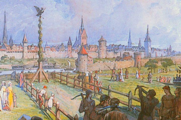 Vogelschießen Hannover 16. Jahrhundert