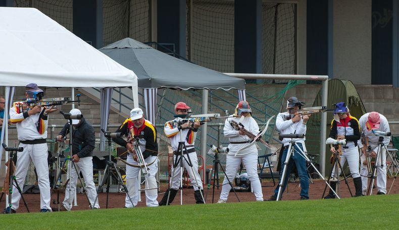 Foto: Herbert Kästel / Der SSV Kronau bot den DM-Teilnehmern erneut beste Bedingungen.