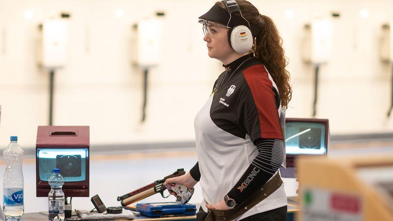 Bild: DSB / Europameisterin Vanessa Seeger hat ihren sportlichen Ehrgeiz von ihrem Eltern mit auf den Weg bekommen, die selbst Olympioniken waren.