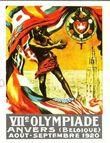 Plakat Olympische Spiele 1920