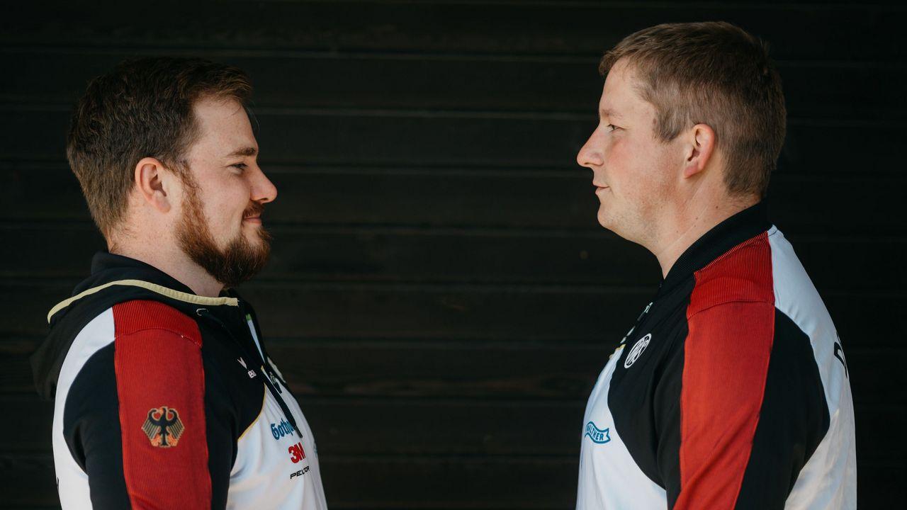 Foto: DSB / Auf ihnen ruhen die Hoffnungen auf die erste Schießsport-Medaille in Tokio: Olilver Geis und Christian Reitz (rechts).