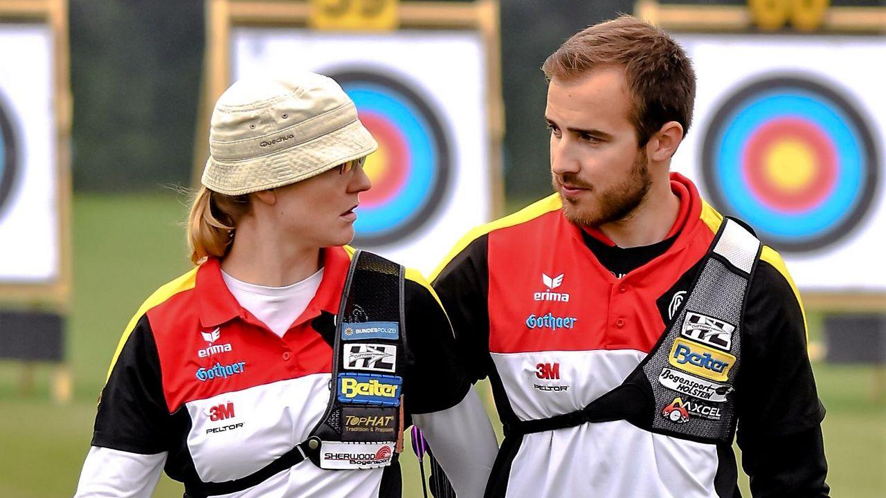 Foto: Eckhard Frerichs / Lisa Unruh und Florian Kahllund wollen bei der WM gemeinsam erfolgreich sein.
