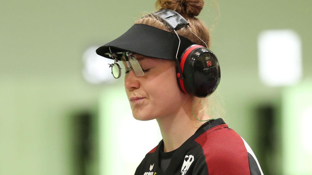 Foto: Picture Alliance / War nicht ganz zufrieden mit ihrer Olympia-Premiere: Carina Wimmer.
