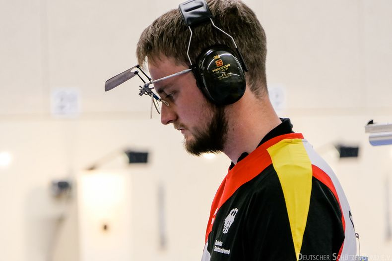Bild: Matthias Holderried voll fokussiert beim Weltcup in München.