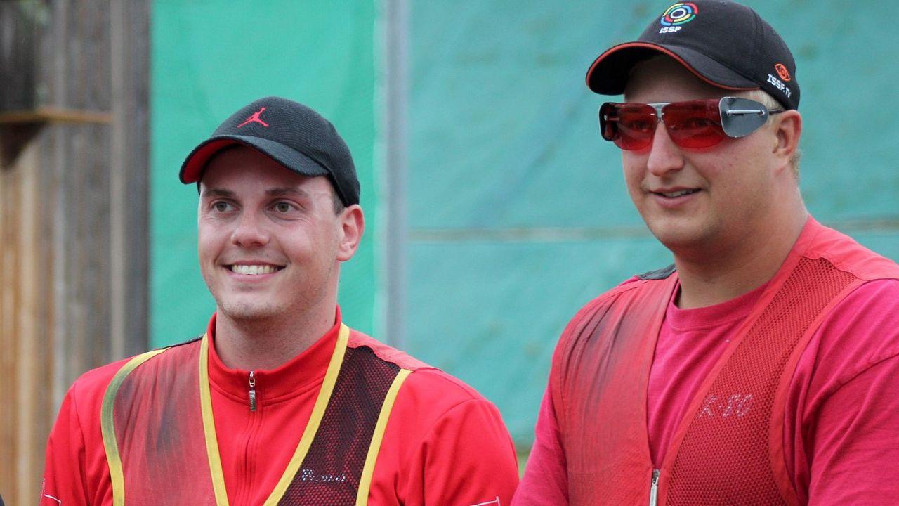 Foto: DSB / Vincent Haaga (links) und Tilo Schreier haben sich für die EM qualifiziert.