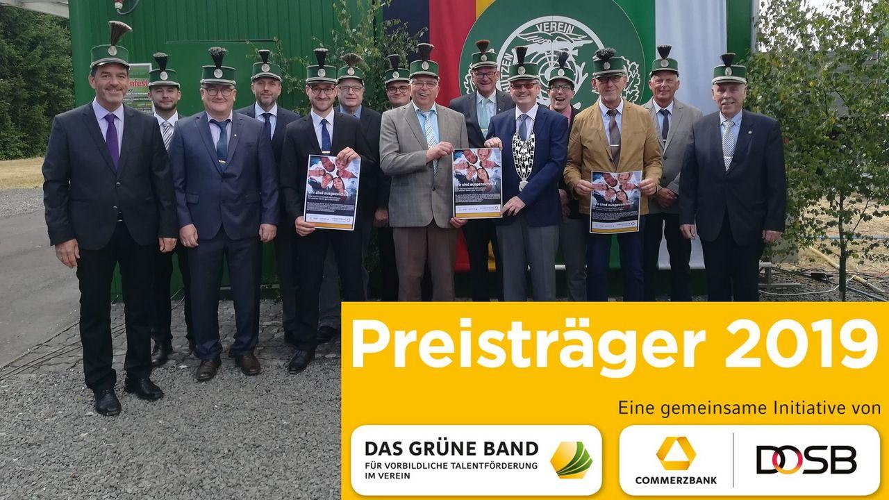 Foto: Wissener SV / Große Freude beim Wissener SV über die Auszeichnung des DOSB.