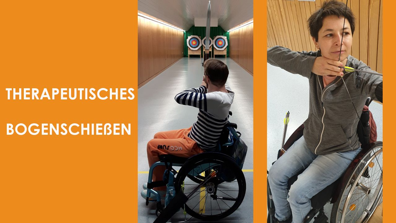Therapeutisches Bogenschießen im Unfallkrankenhaus Berlin