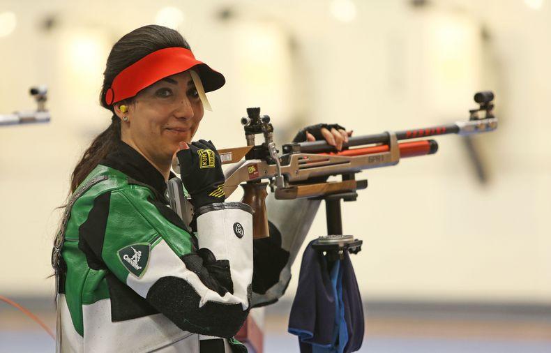 Foto: DSB / Ein Lachen für Tokio 2020: Die Syrerin Khaoula will im nächsten Jahr bei den Olympischen Spielen dabei sein.