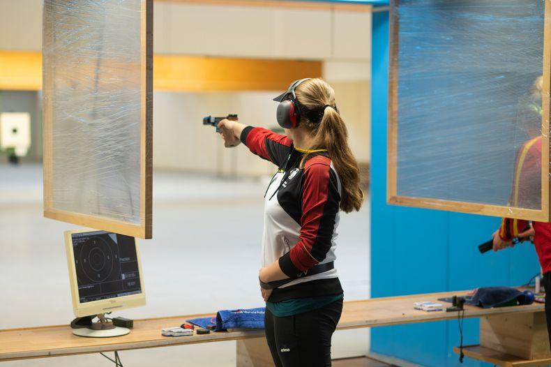 Bild: DSB / Doreen Vennekamp sorgte mit 587 Ringen für das beste Ergebnis der gesamten Qualifikation.