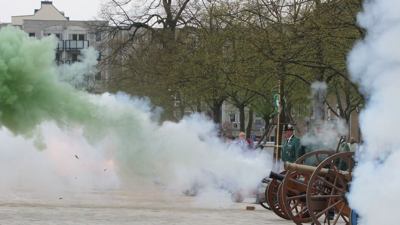Foto: Michael Eisert / Natürlich werden sich auch die Böllerschützen beim Deutschen Schützentag präsentieren