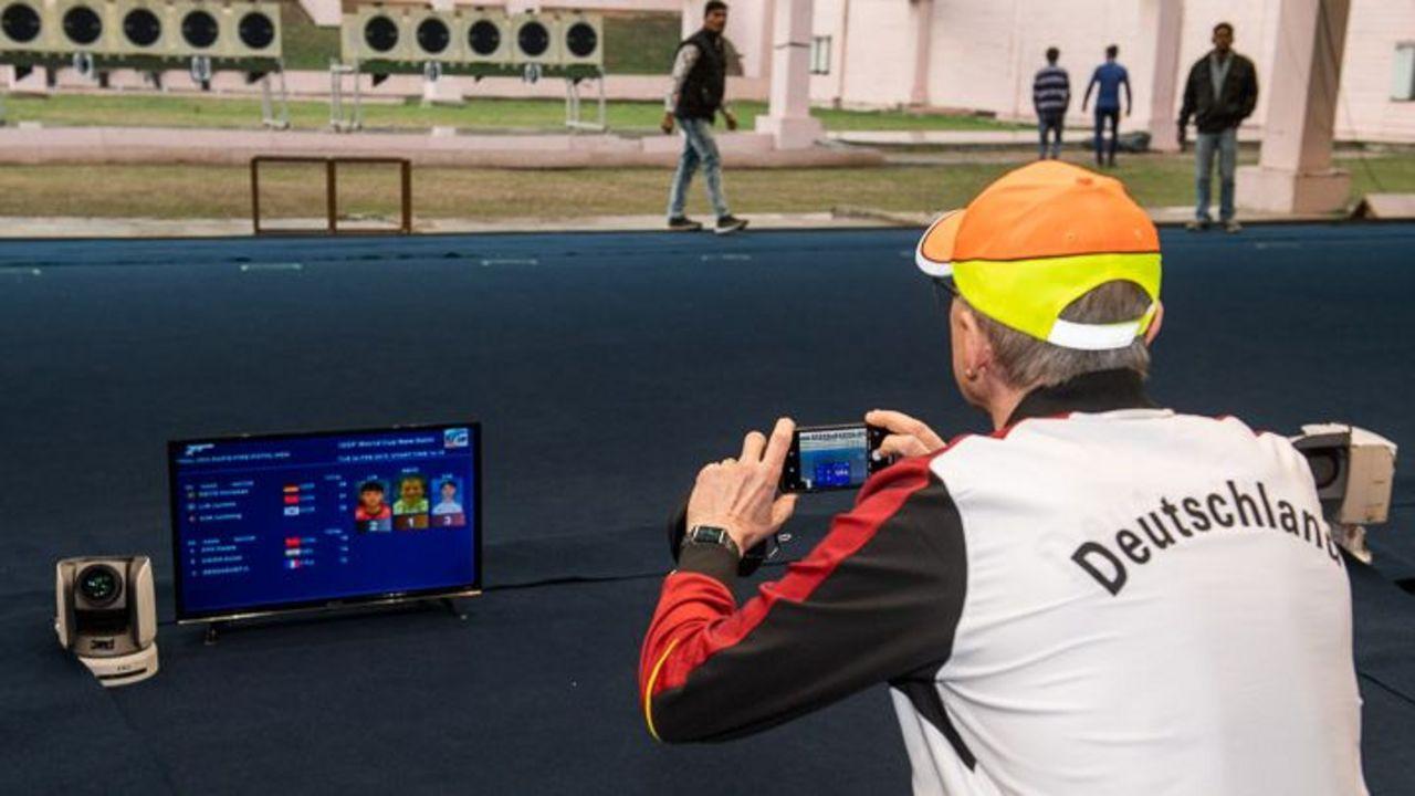 Foto: ISSF / Weder Detlef Glenz noch andere DSB-Sportler und -Trainer werden 2021 am Weltcup in Neu-Delhi teilnehmen.