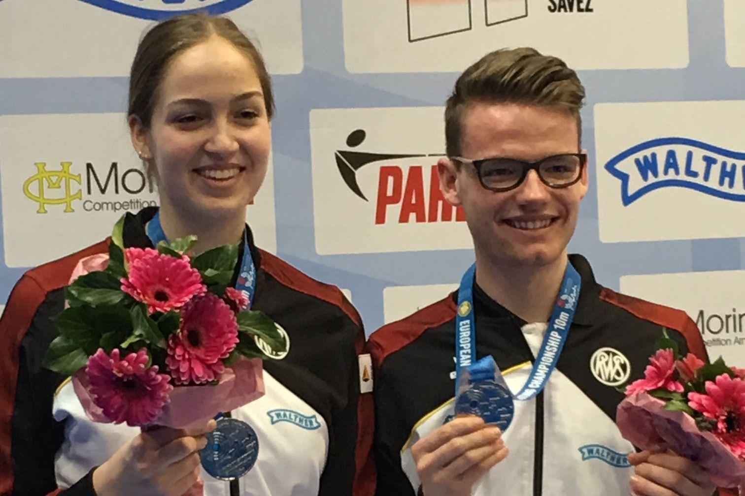 Anna Janßen und Maximilian Ulbrich