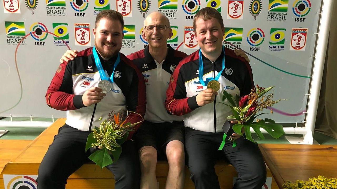Foto: DSB / Erfolgs-Trio: Oliver Geis, Detlef Glenz und Christian Reitz in Rio.
