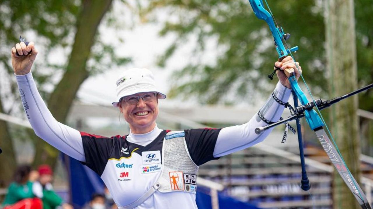 Bogen Weltcupfinale Yankton: Gold für Unruh, Bronze für Kroppen