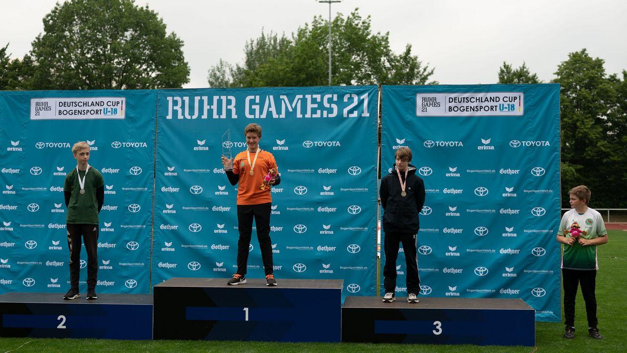 Ruhr Games: Schüler präsentieren sich stark