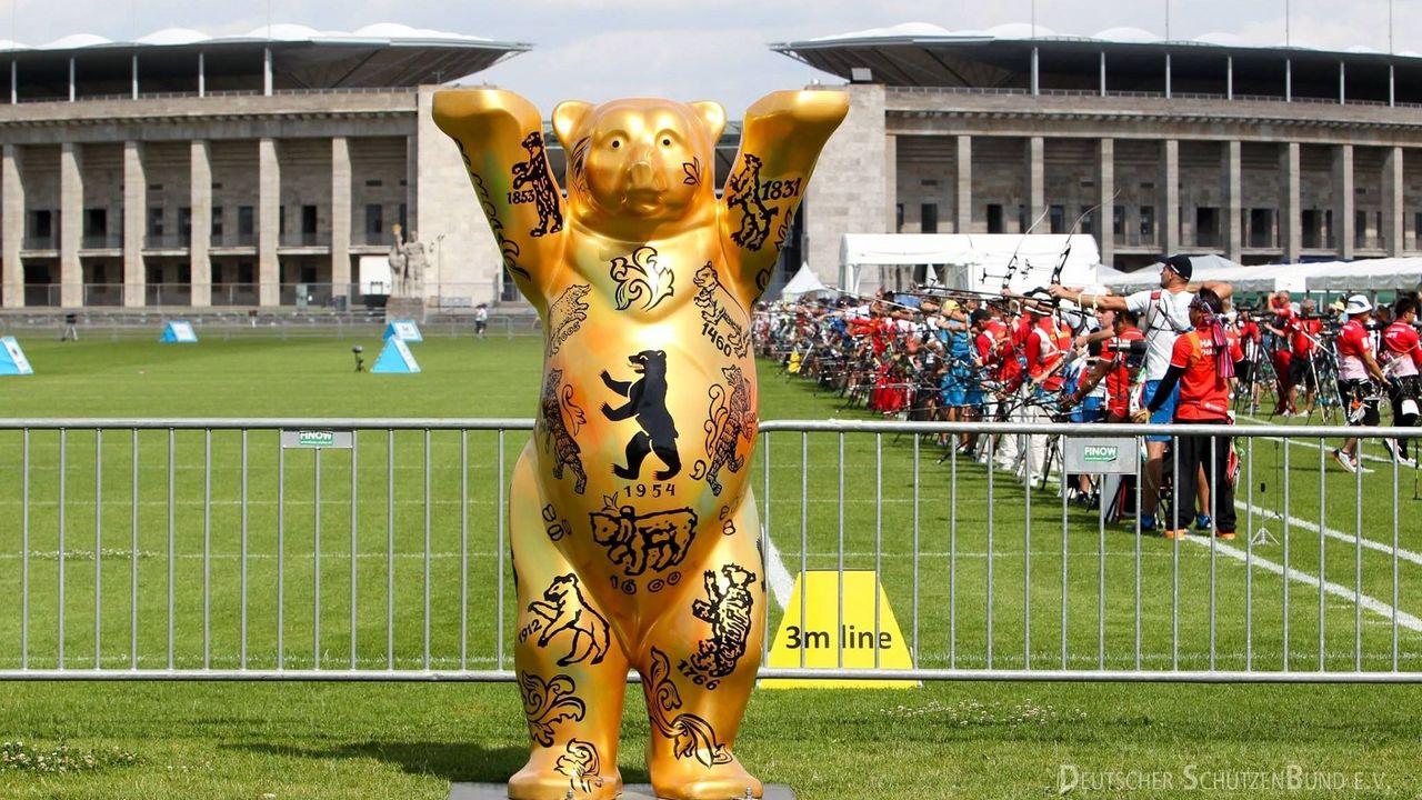 Foto: DSB / Berlin freut sich über die Bogen-WM 2023.