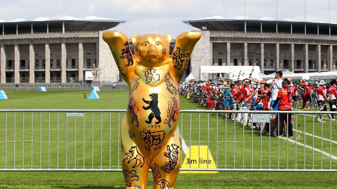 Foto: DSB / Berlin freut sich auf den Weltcup Bogensport, inklusive der Vergabe der letzten Olympia-Tickets.