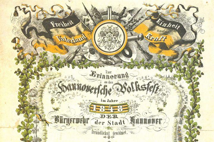 Hannover Bürgerwehr, 1848