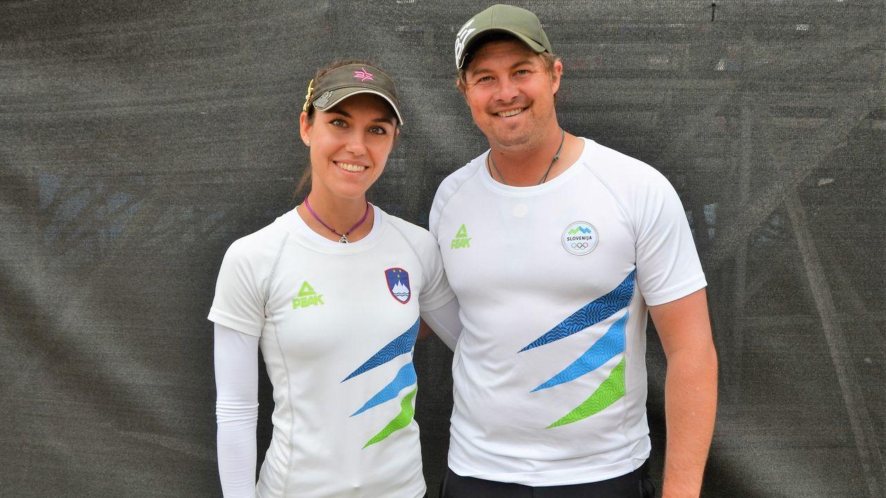 Foto: Eckhard Frerichs / Das Ehepaar Toja Ellison (Slowenien) und Brady Ellison (USA) sind für das Weltcup-Finale qualifiziert.