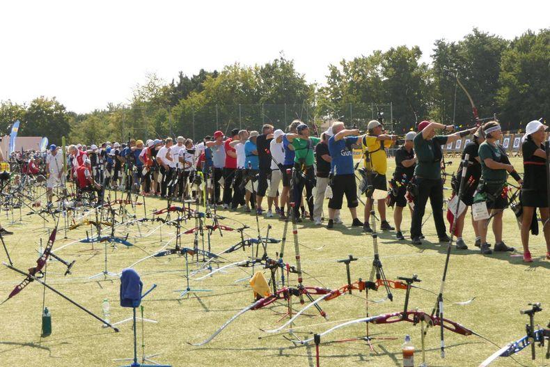 Foto: DSB / Insgesamt 714 Bogensportler kämpfen in Berlin um die DM-Titel und Platzierungen.