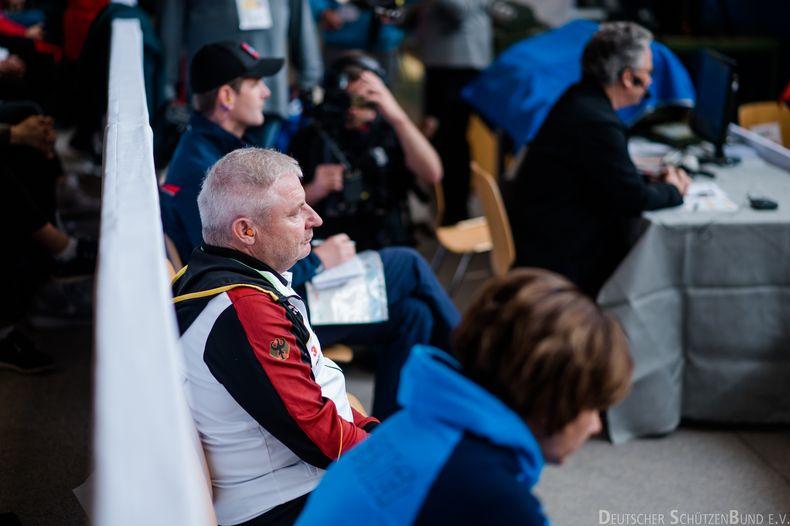 Foto: DSB/ Claus-Dieter Roth weiß um das Potential seiner Mannschaft und hofft auf den Sprung ins Finale.
