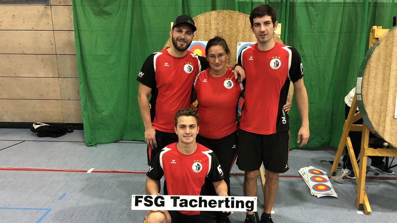 Foto: FSG Tacherting / Makelloser Start in die Bundesligasaison für die FSG Tacherting.