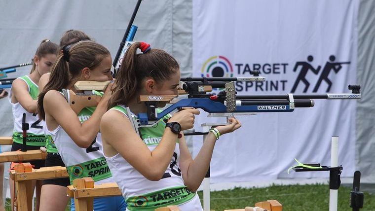 Foto: Target Sprint Team / Bei der World Tour Target Sprint in Dingolfing musste sich die deutschen Athleten der internationalen Konkurrenz erwehren.