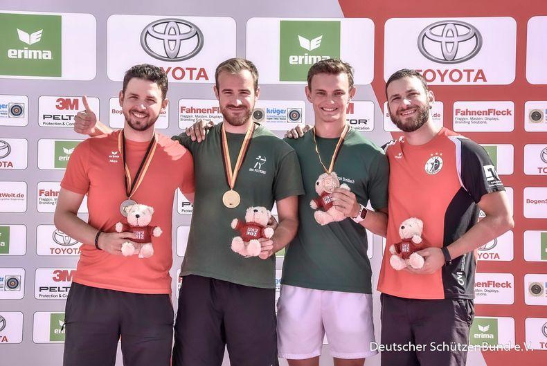 Bild: DSB / Max Weckmüller, Florian Kahllund und Felix Wieser sind auch beim Deutschland Cup in Wiesbaden dabei!