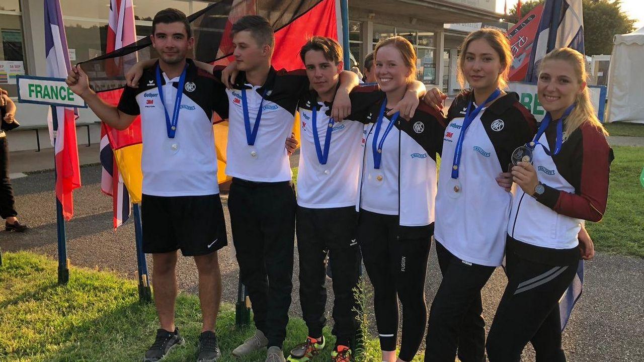 Foto: DSB / Die DSB-Junioren und -Juniorinnen waren super erfolgreich bei der EM in Lonato.