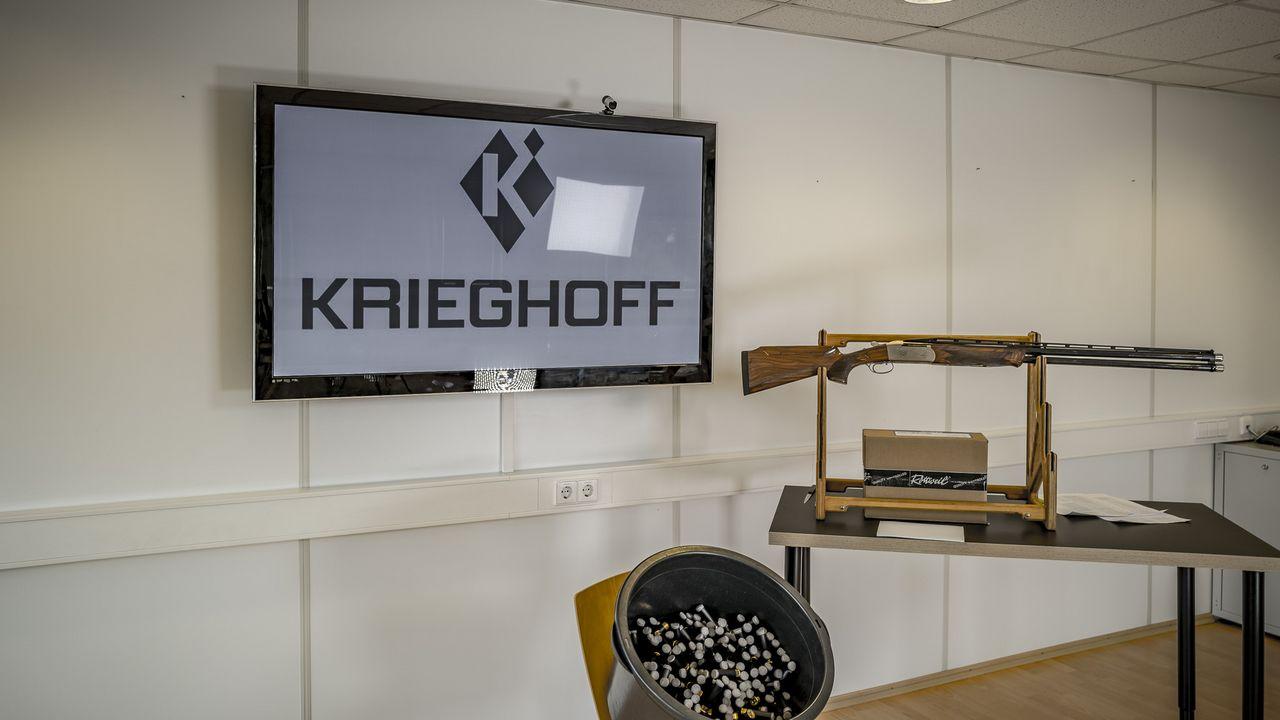 Bild: DSB / Der Lotterie-Hauptgewinn: Eine K-80 Flinte aus dem Hause Krieghoff im Wert von 12.000 Euro.