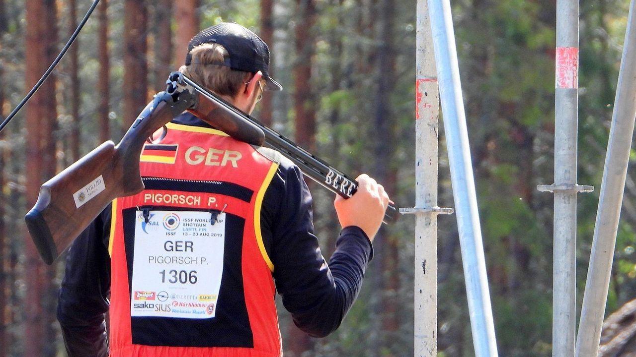 Foto: ISSF / Paul Pigorsch und die anderen deutschen Flintenschützen sind in Lahti im Einsatz.