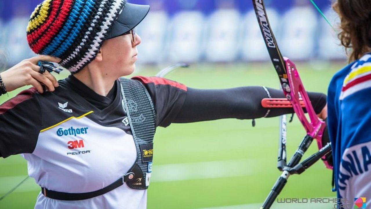 Foto: World Archery / Nach dem Weltcup geht es für Elisa Tartler gleich weiter zum WAE Junior Cup in Slowenien.