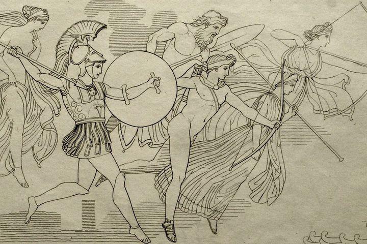 Flaxman Ilias, 1793