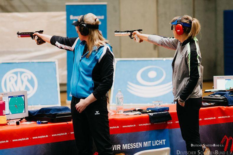 Foto: DSB / Julia Hochmuth (links) von der SGi Ludwigsburg will mit einem Sieg vor heimischem Publikum das Finalticket lösen.