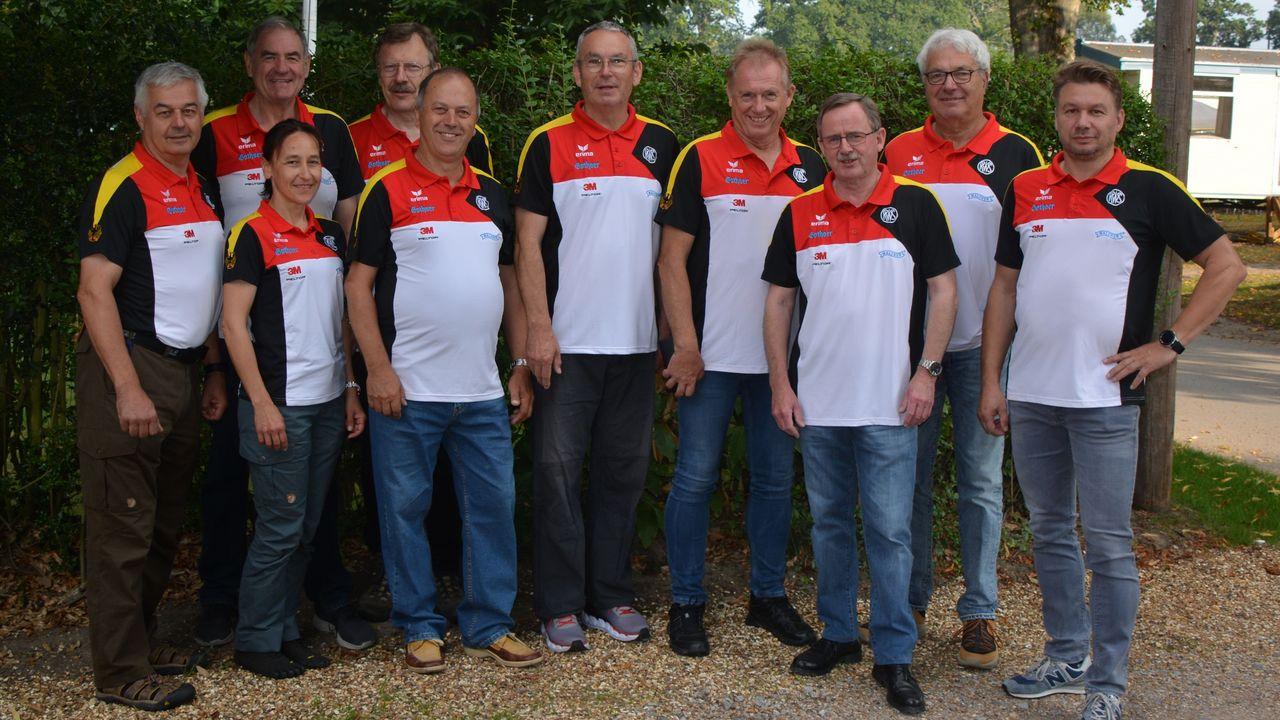 Foto: DSB / Das deutsche Team bei der WM.