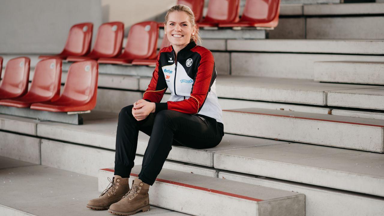 Foto: DSB / Julia Simon freut sich auf ihre ersten European Games.
