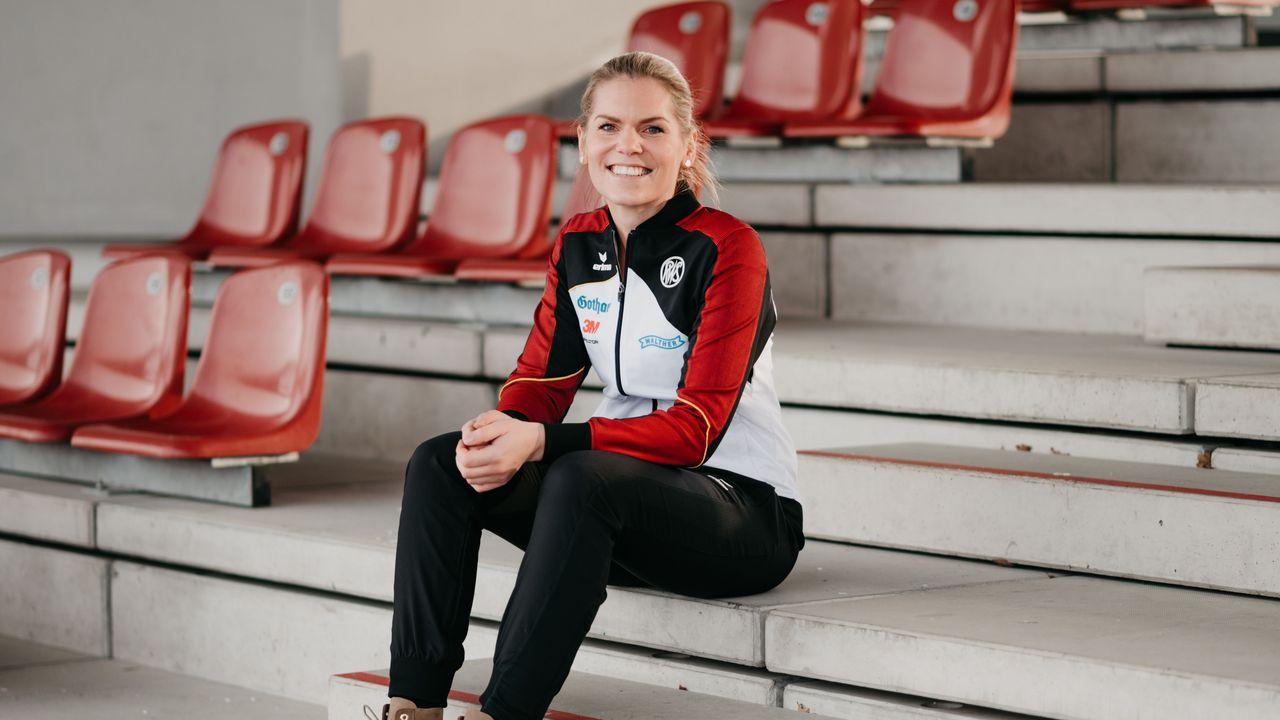 Foto: DSB / Hat gut lachen: Julia Simon agierte souverän in der EM-Qualifikation.
