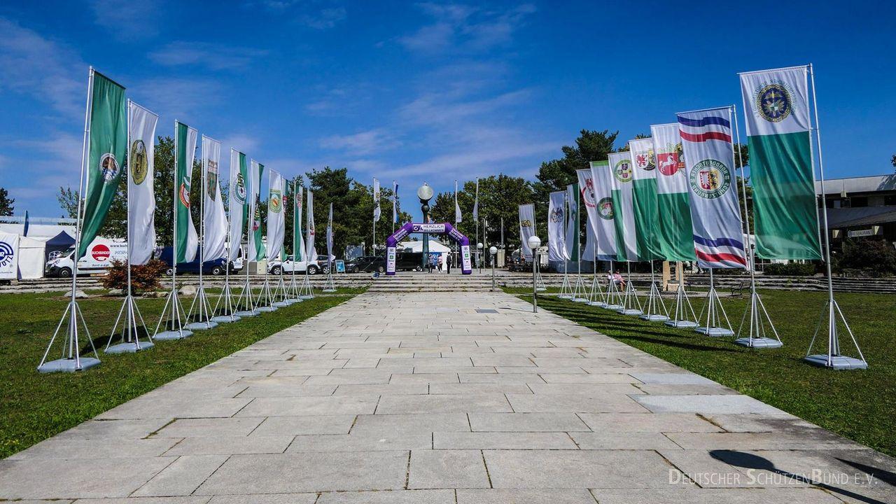 Foto: DSB / München heißt die Teilnehmer an der DM willkommen.