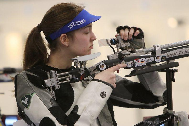 Foto: BSSB / Anna Janßen zeigte mit 631,0 Ringen ihre Zugehörigkeit zur Weltklasse.