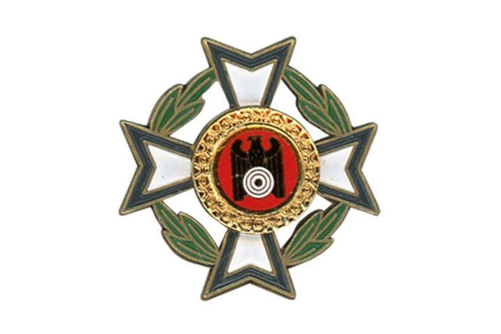 Ehrennadel Grün - ab 10 Jahre