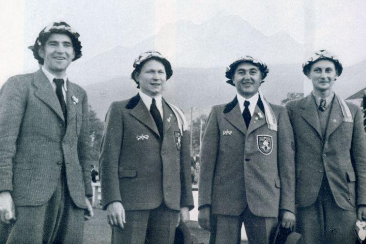 Weltmeistermannschaft Luzern, 1939