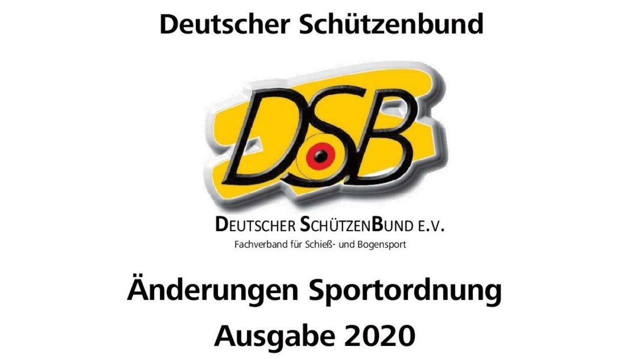 Foto: DSB / Neu verfügbar im DSB-Shop: Die Ergänzungslieferung der Sportordnung.