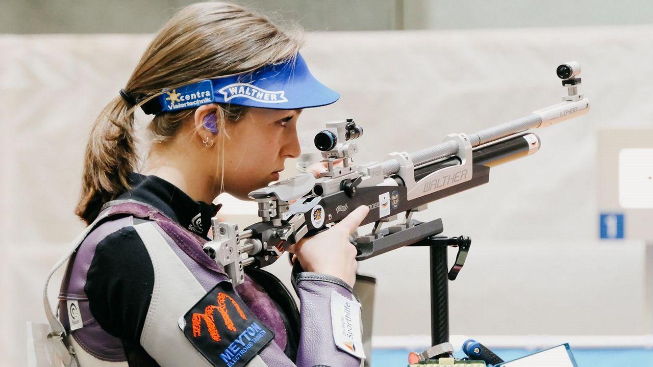 Foto: DSB / Anna Janßen präsentierte sich bei Teil 1 der EM-Qualifikation in Weltklasse-Form.