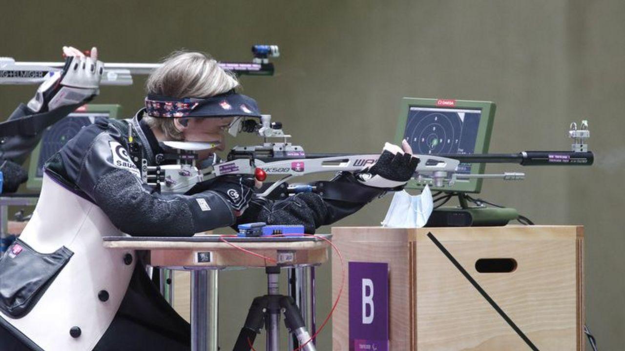 Foto: Joachim Sielski / Natascha Hiltrop zeigte auch in ihrem letzten Tokio-Wettkampf eine Weltklasse-Leistung.