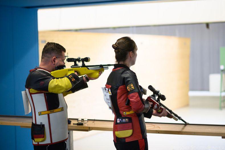 Foto: DSB / Sachsen gewinnt in einem spannenden Finale Mixed-Gold gegen Thüringen.