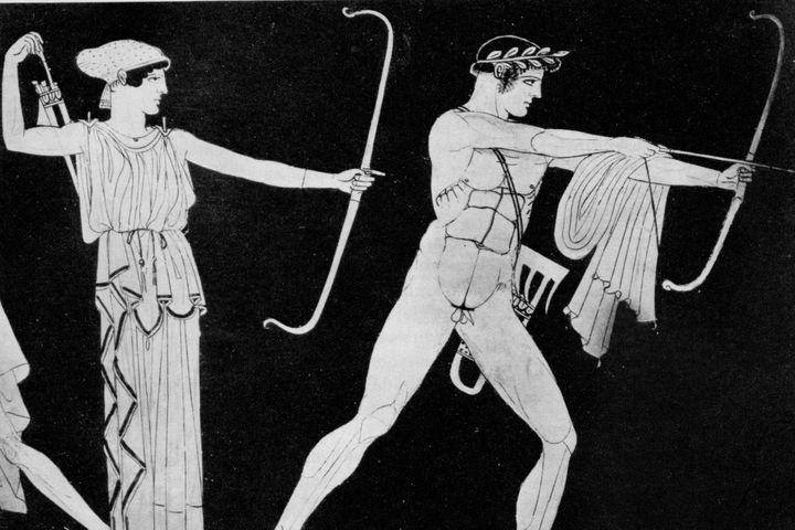 Apollon Zwillingsschwester Artemis